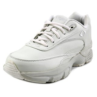 Apex Lenex Walker Round Toe Leather Walking Shoe