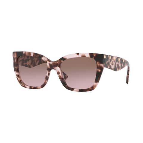 Valentino VA4048 509814 53 Pink Havana Woman Cat Eye Sunglasses