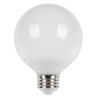 Westinghouse 5301120 Pack of (6) 6 Watt Damp Rated Dimmable G25 Shaped Medium (E26) Globe LED - Soft White