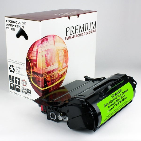 Re Premium Brand replacement for Lexmark T654 Toner T656 (36,000 Yield)
