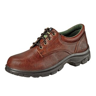 Wood N Stream Work Shoes Mens American Oxford Leather Brown 7041
