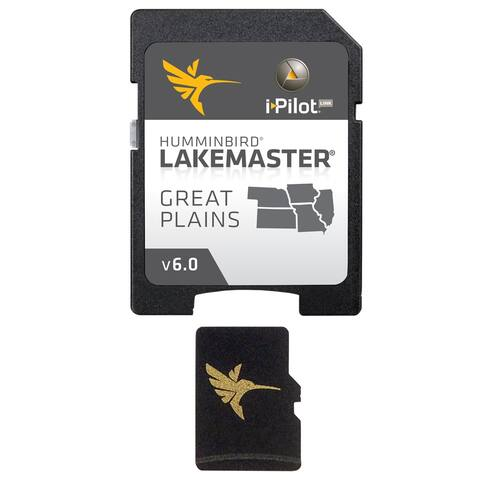 Humminbird 600017-5 LakeMaster Chart Great Plains - Version 6 w/ 400 High Definition Lakes