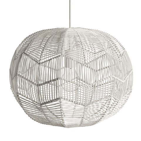 Gale 1 Light Rattan Pendant