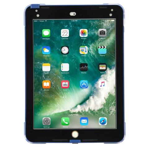 Targus SafePort Rugged Case for iPad (2017/2018), 9.7-inch iPad Pro, and iPad Air 2 (Blue)