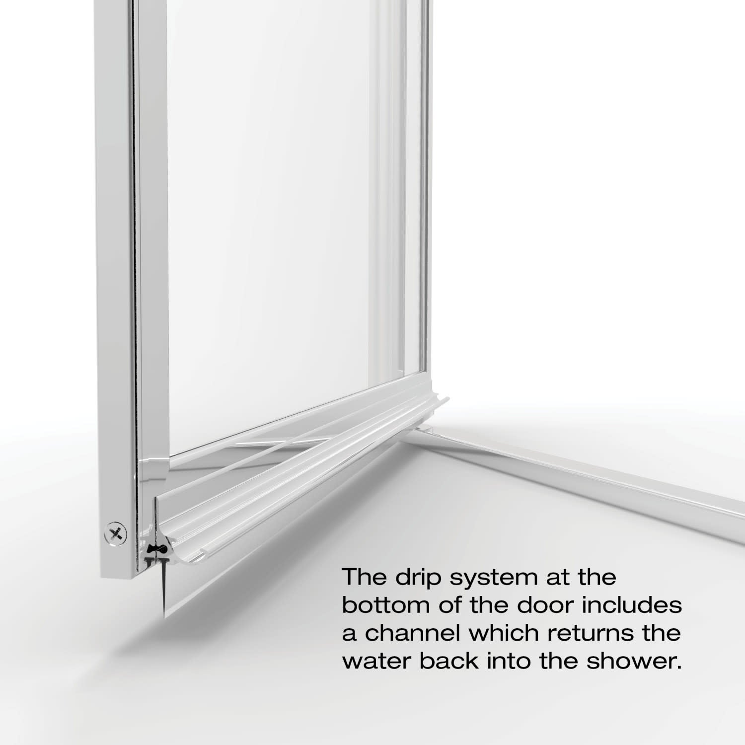 Basco A001 8cl Deluxe 63 1 2 High X 32 7 8 Wide Pivot Framed Shower Door With Clear Glass