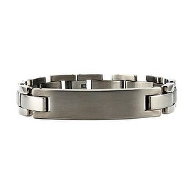 Titanium Men's ID Bracelet - 8.5 inches
