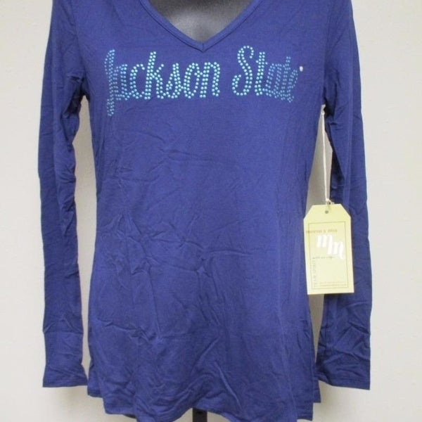 ed5a8d63532 Jackson State Tigers Womens S-M Designer Long Sleeve Shirt by MEESH  amp   ...