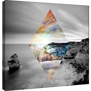 """PTM Images 9-100538  PTM Canvas Collection 12"""" x 12"""" - """"Celestial Landscape 8"""" Giclee Landscapes Art Print on Canvas"""