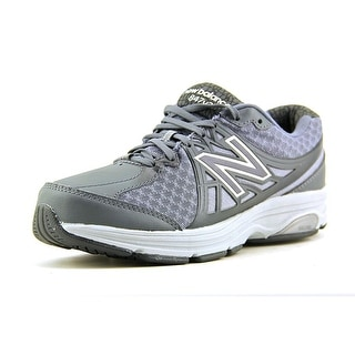 New Balance W847 Women D Round Toe Synthetic Gray Walking Shoe