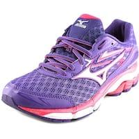 Mizuno Wave Inspire 12 Women  Round Toe Synthetic Purple Running Shoe