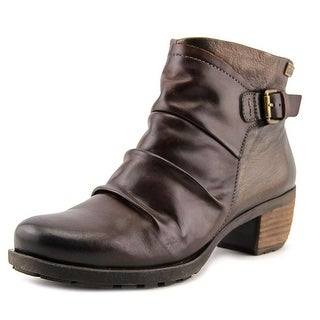 Pikolinos Olmo Men  Round Toe Leather Brown Boot