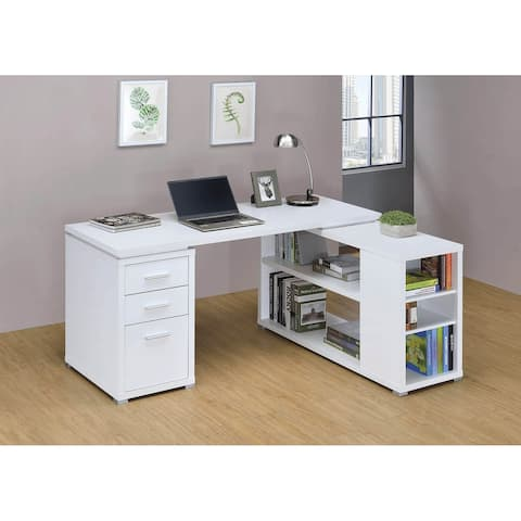 Tona 3-drawer L-shape Desk