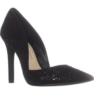 Jessica Simpson Charie Pointed-Toe Dress Pumps, Black
