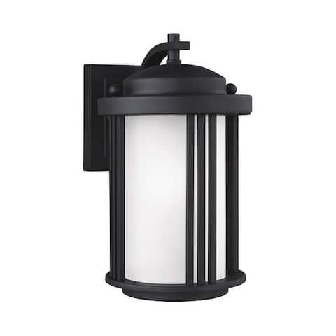 Sea Gull Crowell Small 1-light Outdoor Wall Lantern