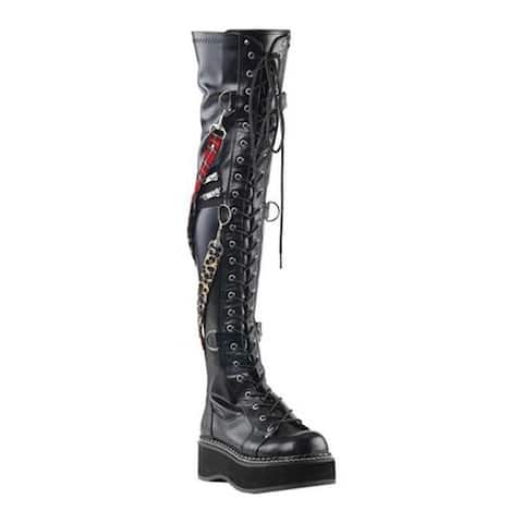b99a98ab71a4a Buy Knee-High Boots Demonia Women's Boots Online at Overstock | Our ...
