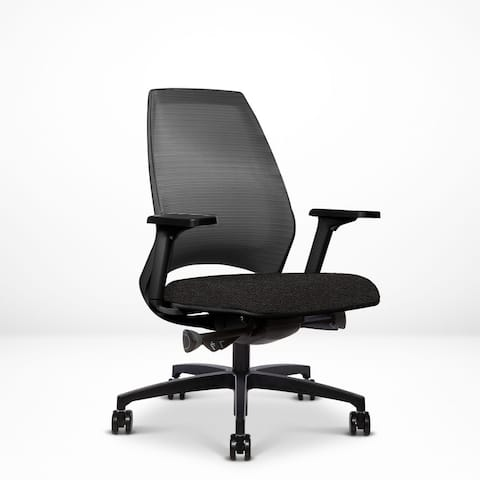 4U Ergonomic Adjustable Task Chair, Stretch Mesh Back, Contract Grade