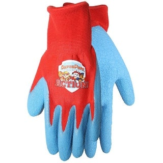 Midwest Quality Glove PW100T Nickelodeon Kids Gardening Gloves, Red