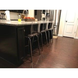 Read More  sc 1 st  Overstock.com & iNSPIRE Q Miles Clear Acrylic Swivel Bar Stools (Set of 2) - Free ... islam-shia.org