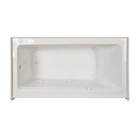 """Jacuzzi J1S6030 WLR 1XX Signature 60"""" Acrylic Whirlpool Bathtub for Three Wall Alcove Installation with Left Drain -"""