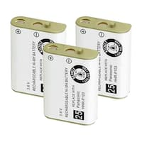 Replacement For VTech 103 Cordless Phone Battery (800mAh, 3.6V, NiMH) - 3 Pack