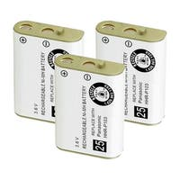 Replacement For VTech 89-1324-00-00 Cordless Phone Battery (800mAh, 3.6V, NiMH) - 3 Pack