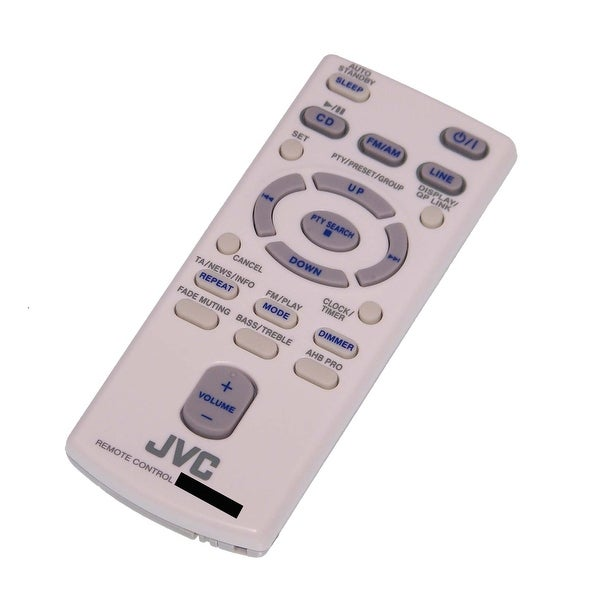 OEM JVC Remote Control Originally Shipped With: UXN1, UX-N1, UXN1S, UX-N1S, UXN1W, UX-N1W