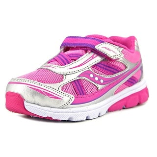 Saucony Baby Ride Youth EW Round Toe Synthetic Pink Walking Shoe