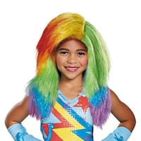 Child My Little Pony Movie Rainbow Dash Wig - standard - one size