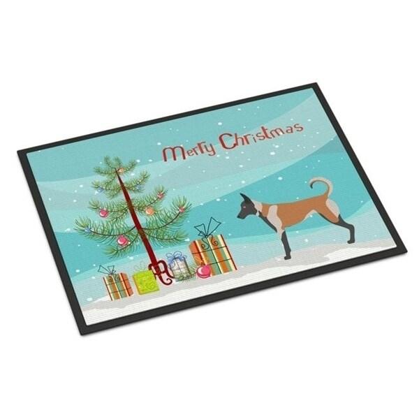 Carolines Treasures BB8461JMAT Malinois Christmas Indoor or Outdoor Mat 24 x 36 in.
