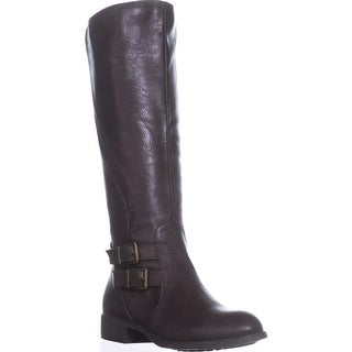Link to Style & Co. Womens Milah Almond Toe Knee High Cold Weather Boots Similar Items in Women's Shoes