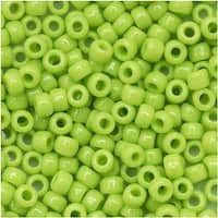 Toho Round Seed Beads 8/0 44 'Opaque Sour Apple' 8 Gram Tube