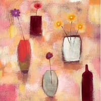 ''Floral Arrangement I'' by Sharon Williams Kunst Graphics Art Print (19.75 x 19.75 in.)