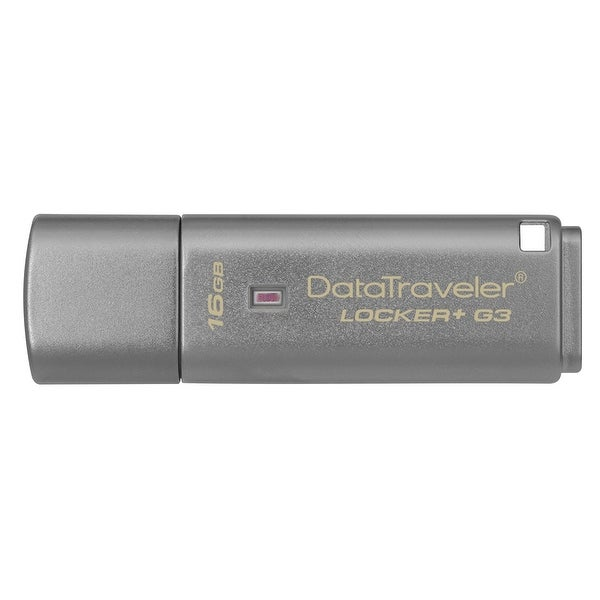 Kingston 16Gb Datatraveler Locker+ G3 Usb 3.0 Flash Drive