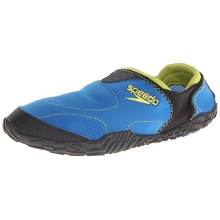 Speedo Men's Offshore Amphibious Pull On Water Shoe,Imperial Blue/Black,8 M Us
