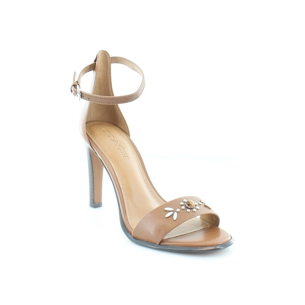 Coach Indi Women's Heels Saddle
