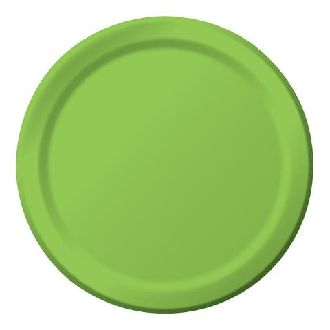 "Touch Of Color 24 Count 8 3/4"" Plates Fresh Lime - Multi"