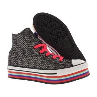 Converse Chuck Taylor Zipper Platforn Hi Gradeschool Kid's Shoes Size - 13 little kid m