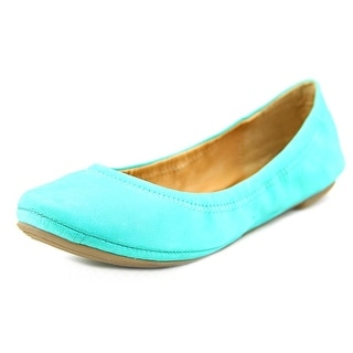 Lucky Brand Emmie Round Toe Leather Ballet Flats