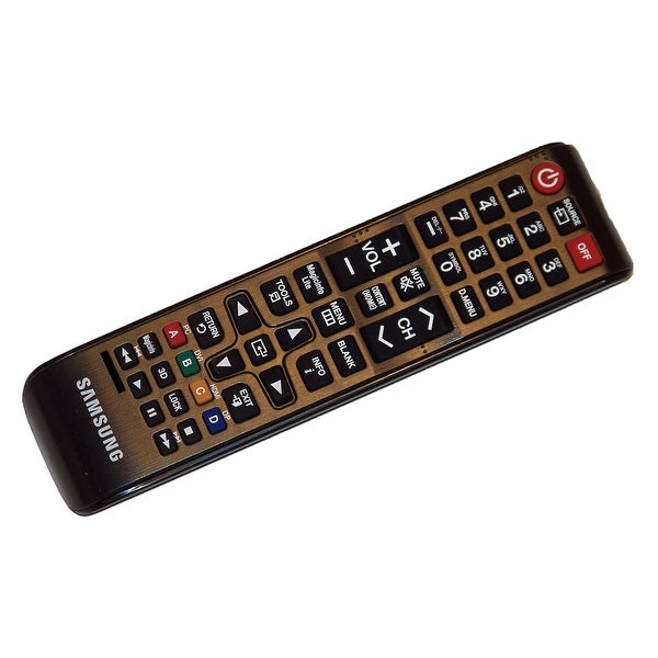 OEM Samsung Remote Control Originally Supplied With: LH46OLBPPGC, LH46UEAPLGC, LH55MEBPLGA, LH65MEBPLGA