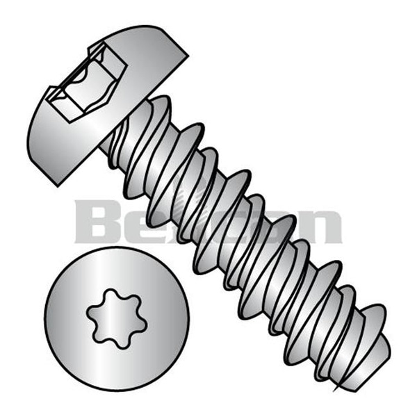 Shop No 10 X 1 No 3 Hd 6 Lobe Pan Fully Threaded High Low Screw