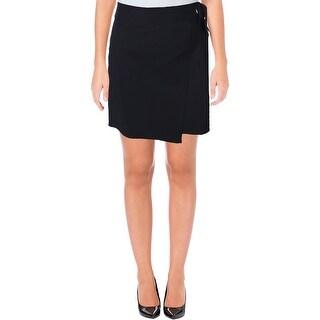Ivanka Trump Womens A-Line Skirt Matte Jersey Above Knee