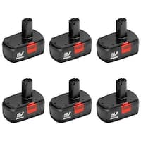 Replacement Battery for Craftsman 11375 (6-Pack) Replacement Battery