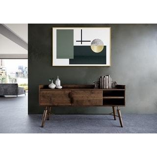 Link to Modrest Sebring Mid-Century Modern Acacia Buffet Similar Items in Dining Room & Bar Furniture