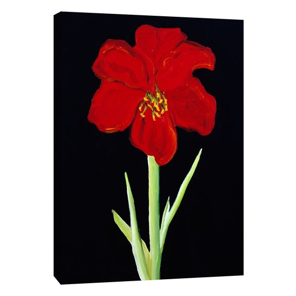 """PTM Images 9-105270 PTM Canvas Collection 10"""" x 8"""" - """"Amaryllis"""" Giclee Poppies Art Print on Canvas"""