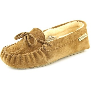 Bearpaw Astrid Round Toe Suede Slipper