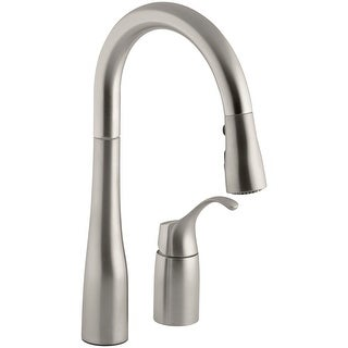 Link to Kohler K-649 Simplice Pullout Spray Kitchen / Bar Faucet with Detached Similar Items in Faucets