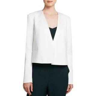 Theory Womens Nabiel C Blazer Wool Blend Cropped