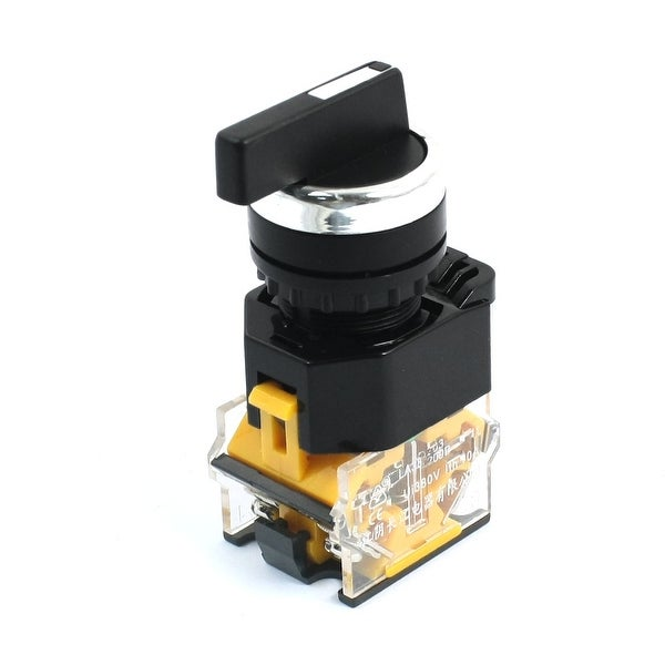 Shop 1NO+1NC 3 Positions 4-Terminals Latching DPST Rotary Switch ...