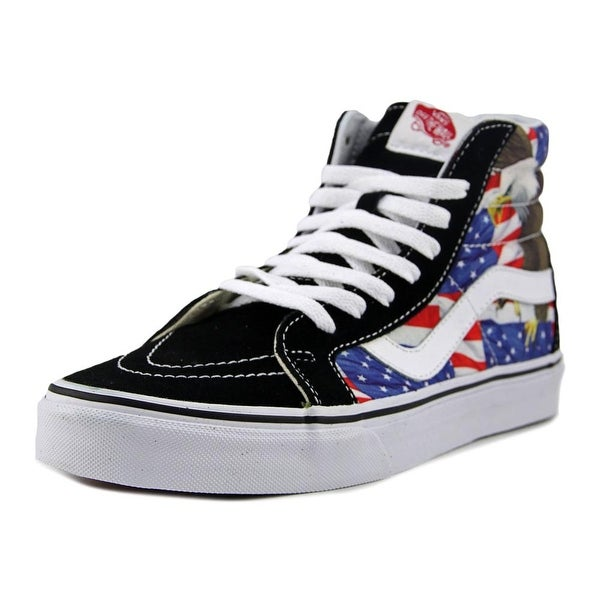 Vans SK8-Hi Reissue Men Round Toe Synthetic Black Sneakers