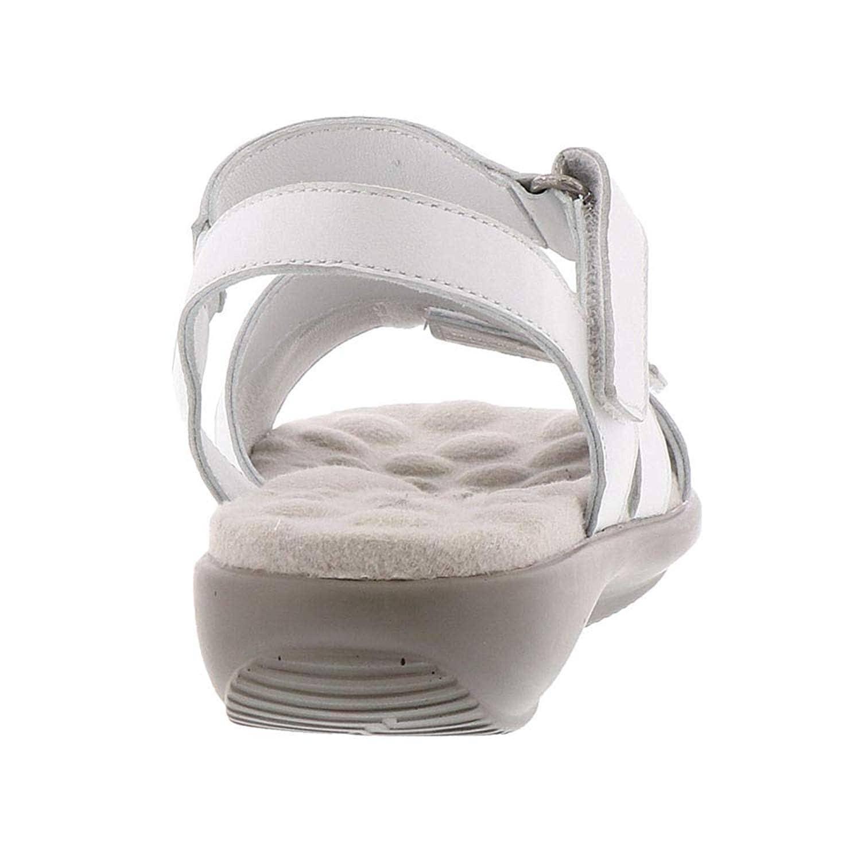 Walking Cradles Womens Sensational Leather Open Toe Casual Slingback Sandals